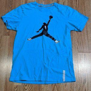 Nike Air Jordan  Black Tie Tuxedo Jumpman Shirt